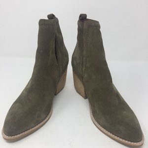 "Jeffrey Campbell ""Orwell"" olive green booties-6"